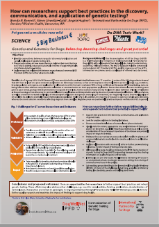 How Can Researchers support best practices in the discovery communication and application of genetic testing.png